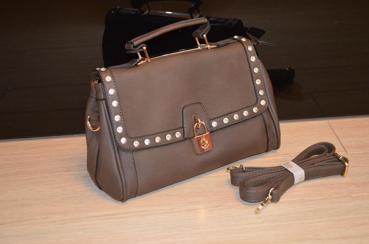 Женская сумка К 751 оливковая