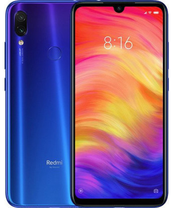 Смартфон Xiaomi Redmi Note 7 4/128Gb Neptune Blue UA-UCRF Гарантия 1 год