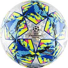 Мяч футбольный Adidas Finale 19 Top Capitano DY2564 №5 Белый с синим (4061624832602)