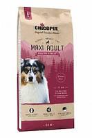 Корм для собак Super-Premium Classic Nature Line (CNL) Chicopee Maxi Adult Poultry&Millet Птица и Просо, 15 кг