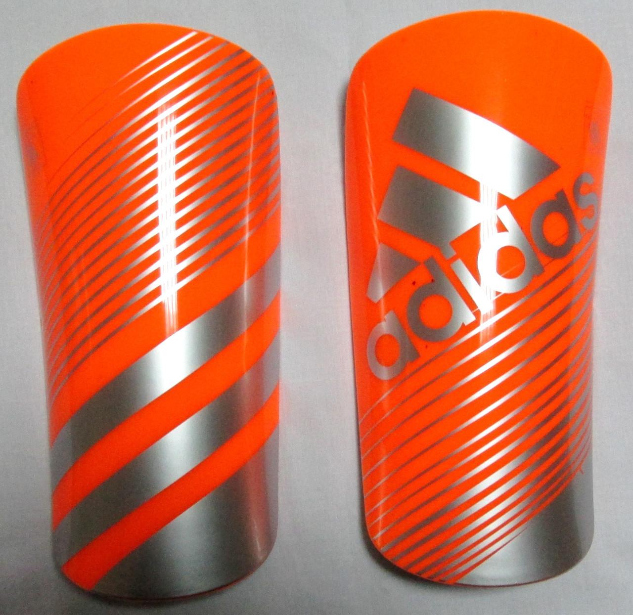 Щитки Adidas Lite оранжевые Распродажа! Оптом и в розницу