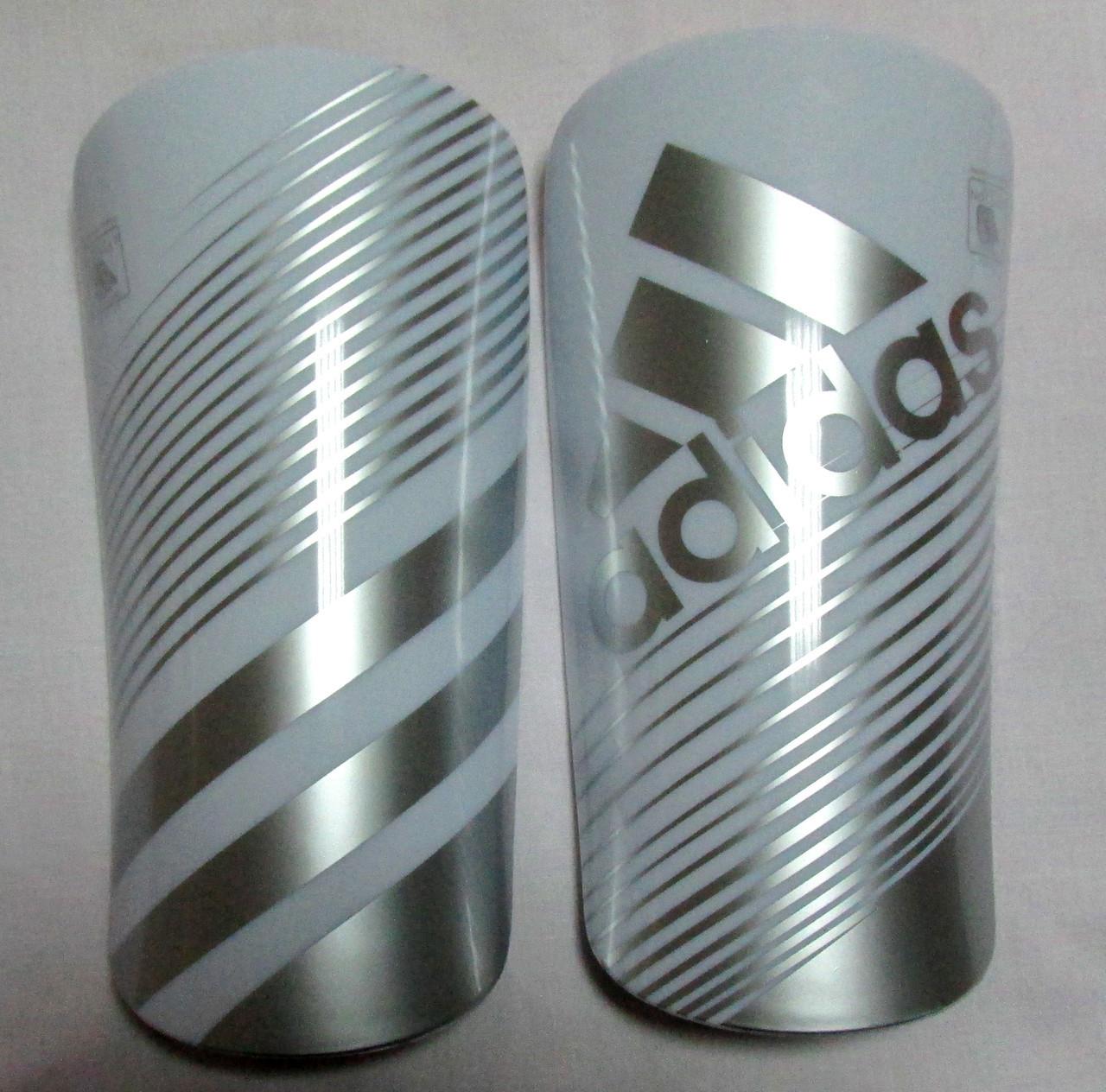 Щитки Adidas Lite белые Распродажа! Оптом и в розницу