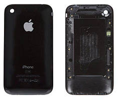 Задняя крышка корпуса Apple iPhone 3G 8GB Black