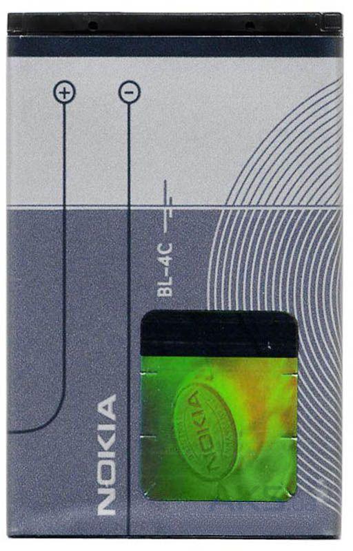 Аккумулятор Nokia BL-4C (860 mAh) класс АА