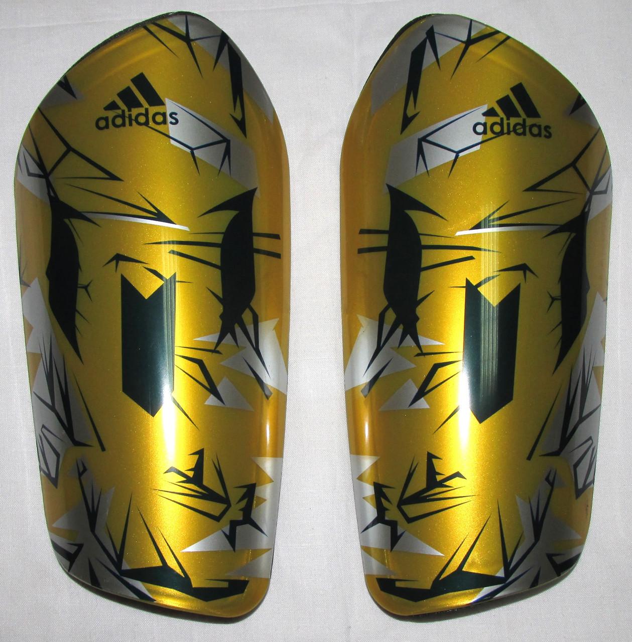 Щитки Adidas Lite желтые Распродажа! Оптом и в розницу