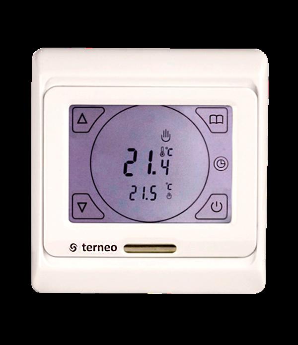 Терморегулятор terneo SEN (програмований сенсорний)