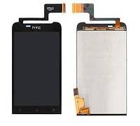 Дисплей HTC T320e ONE V (G24) + тачскрин (black) модуль