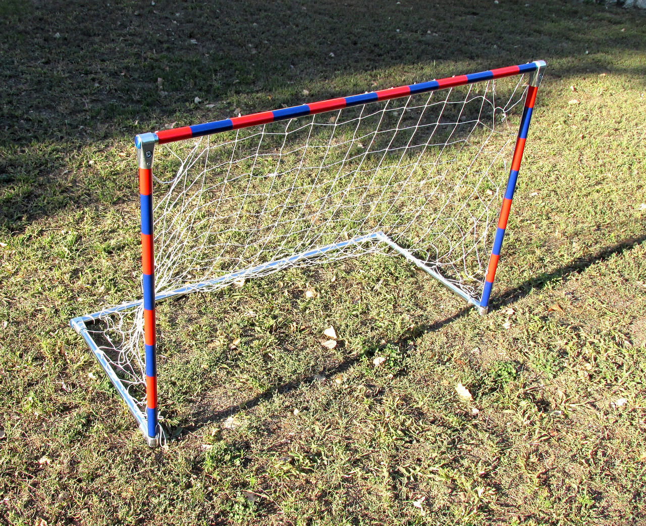 Детские футбольные ворота красно-синие, (снято с производства) Распродажа! Оптом и в розницу