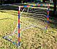 Детские футбольные ворота красно-синие, (снято с производства) Распродажа! Оптом и в розницу, фото 3