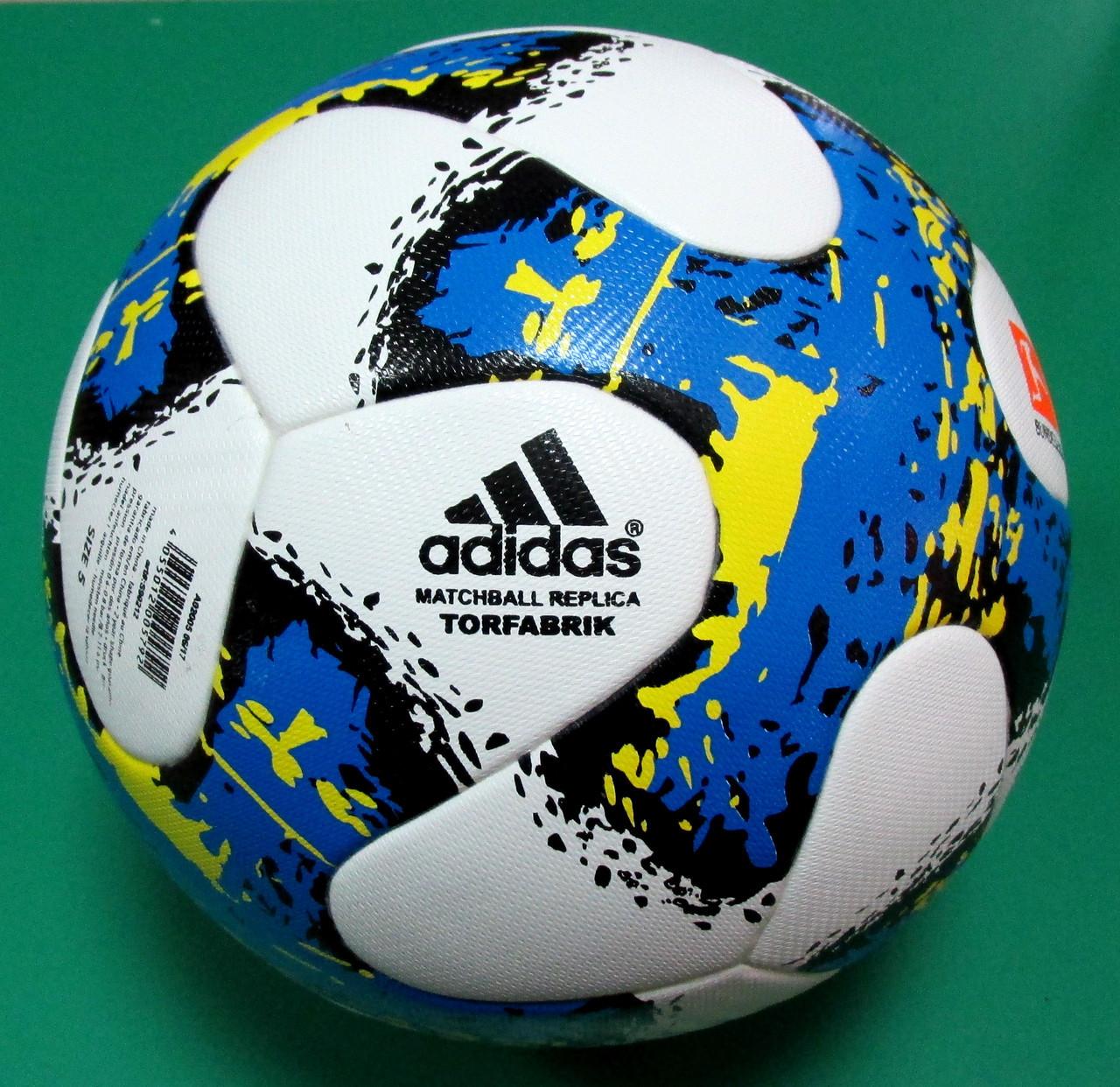Мяч футбольный Adidas Match Ball Replica Bundesliga Распродажа! Оптом и в розницу