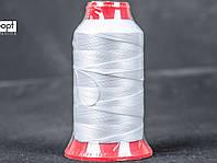 Нитка швейная TYTAN (Турция) № 60, для машинки Версаль (270DTEX X2), цв. белый, 500 м