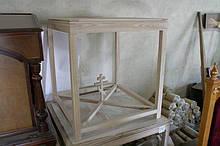 Престол внутрішній з дуба, вільхи різних розмірів