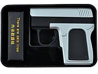 Электрическая подарочная USB зажигалка пистолет 4367