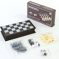Набор шахматы, шашки, нарды (47 x 47см) SC9800