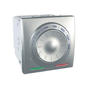 Терморегулятор для тёплого пола, алюминий. Unica Top MGU3.503.30