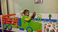 """Детские кроватки из коллекции """"Грузовичок"""" с изменением цвета, декоров или размера. Наценка на изменение двух и более цветов, уменьшение размера + 20 %."""