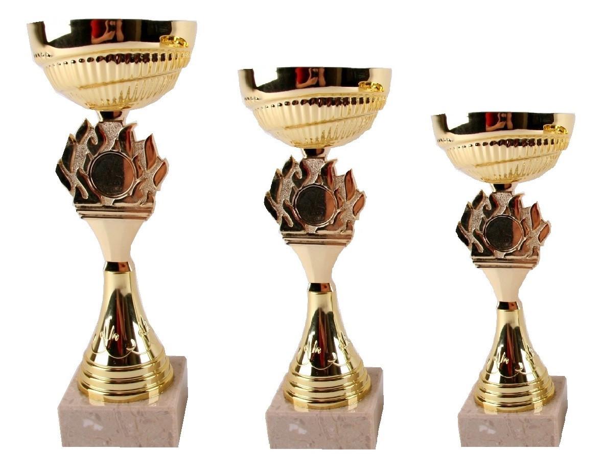 Кубок Олимпийский огонь комплект (1, 2, 3 место) Распродажа! Оптом и в розницу