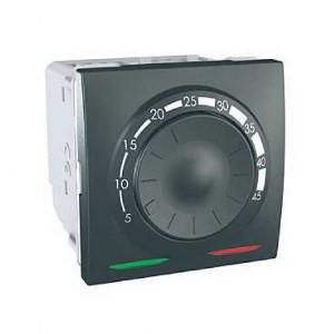 Терморегулятор для тёплого пола, графит. Unica Top MGU3.503.12
