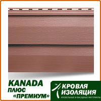 """Панель KANADA плюс """"Премиум"""", красно-коричневый; 3,66х0,23м"""