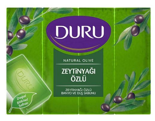 Мыло Duru Natural с экстрактом оливкового масла и с листьями оливы, 150 г
