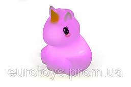 """Детский ночник-игрушка Click """"Hічні звірятка"""" Единорог 12 см"""