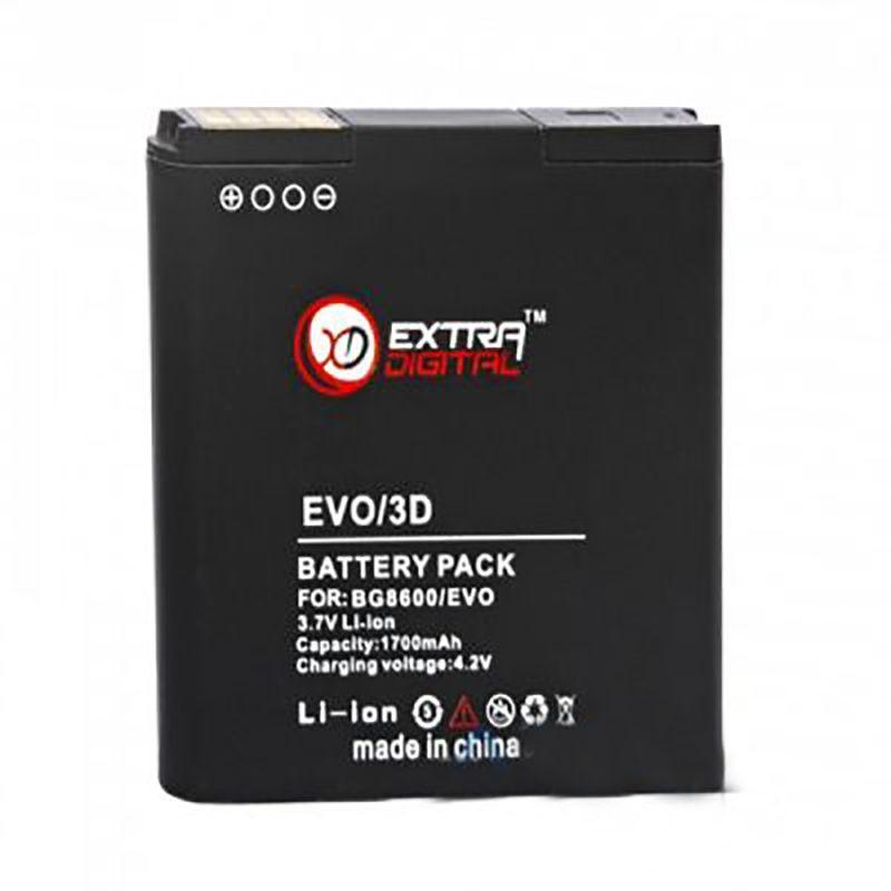 Аккумулятор HTC Evo 3D X515m / BG86100 / BMH6205 (1600 mAh) ExtraDigital