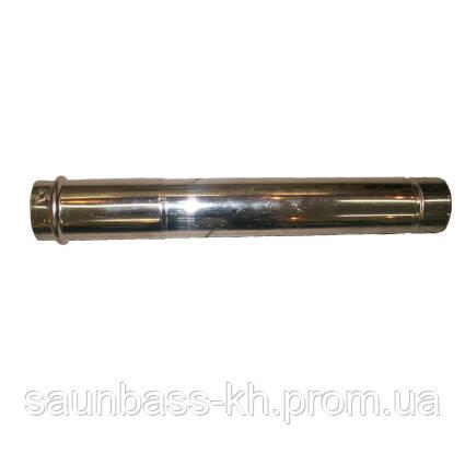 Труба раздельного дымохода Daewoo 500мм Ф80