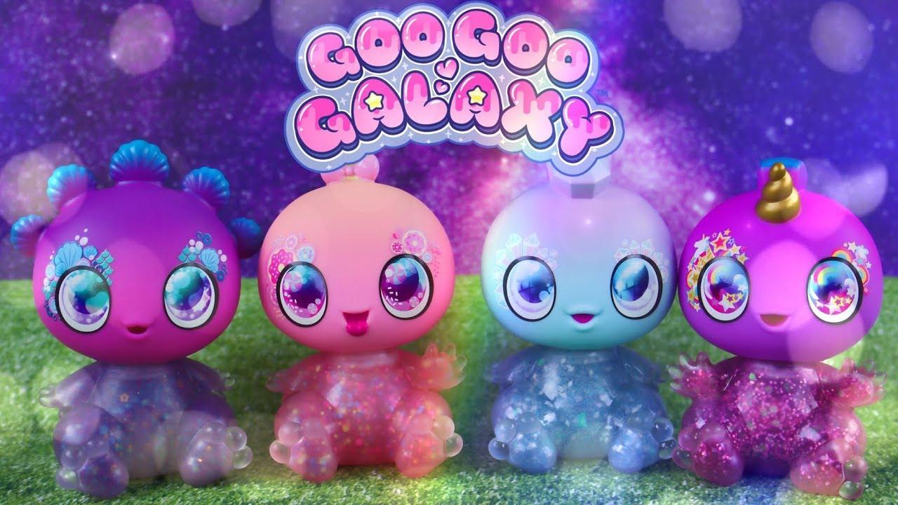 Инопланетные малыши ГОГО ГАЛАКСИ сквишсо слаймом! Goo Goo Galaxy. Оригинал из США