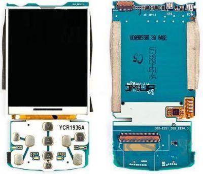 Дисплей (экран) для телефона Samsung E251 с платой Original