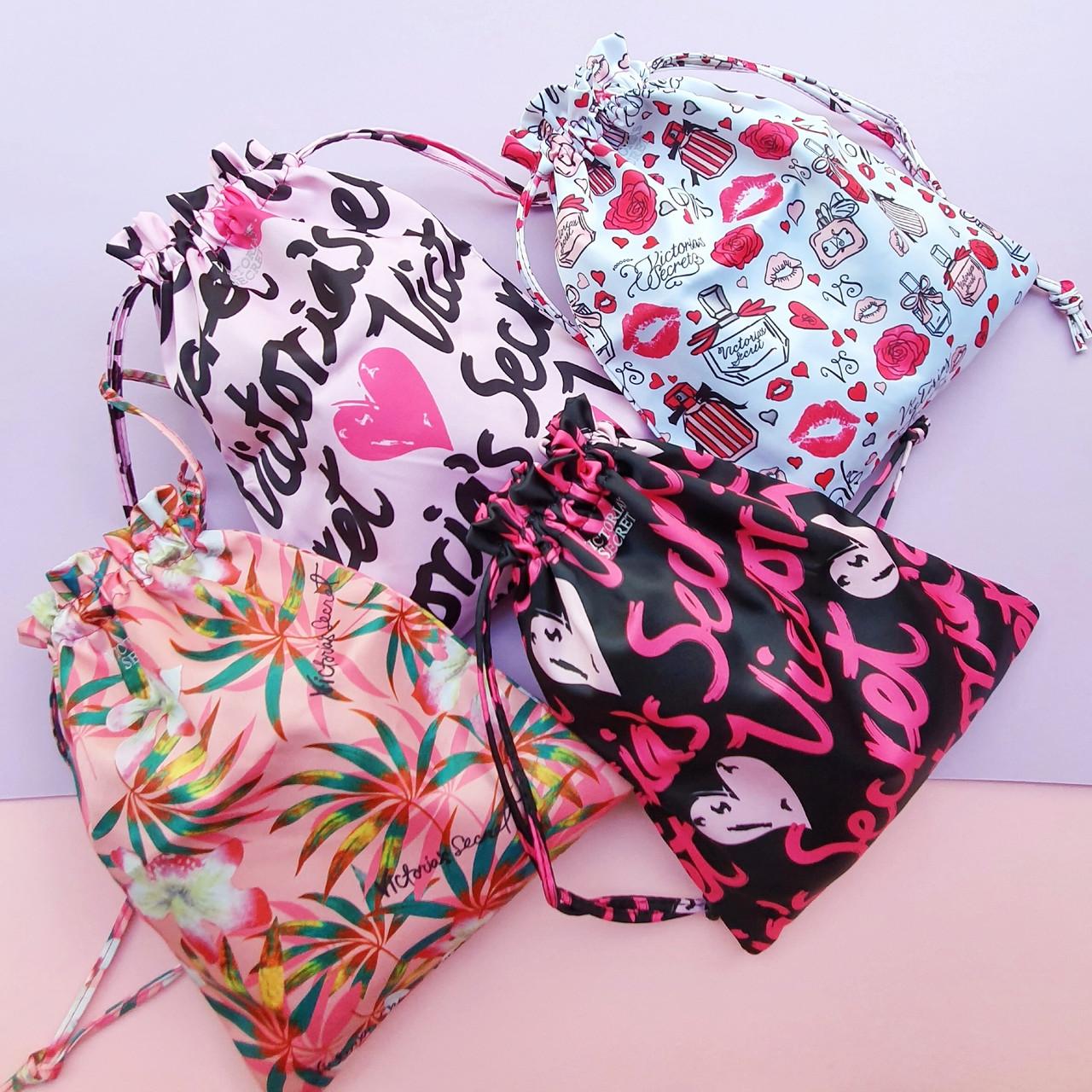 Сумка-мешок женская Victoria's Secret Pink Juice