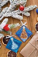 Набір для вишивки новорічной прикраси У лісі народилась ялинка