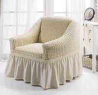 Чехол для кресла Arya Burumcuk Кремовый