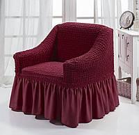 Чехол для кресла Arya Burumcuk Бордовый