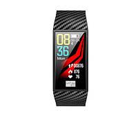 NO.1 DT58 - умный фитнес браслет  с ЭКГ и тонометром (Черный) - 911269