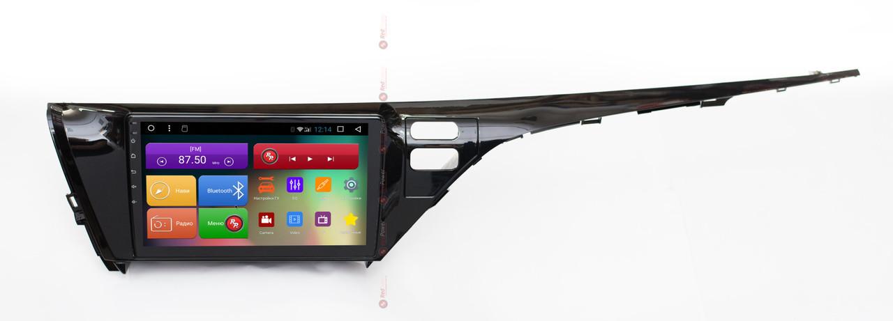 Штатная автомагнитола RedPower 51331R K IPS DSP для Toyota Camry XV70 (2018+) на Android 8
