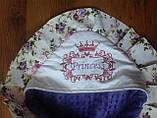 Конверт  двухсторонний с капюшоном для девочек Принцесса, фото 8
