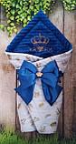 Нарядный  конверт-плед для новорожденных на выписку, фото 5