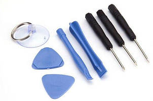 Набір викруток та інструменту 8 в 1 для відкривання корпусів смартфонів