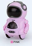 Робот Jiabaile интерактивная игрушка Pocket Robot, english, розовый, фото 5