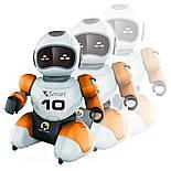 Робот футболист с пультом управления оранжевый, фото 6