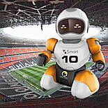 Робот футболист с пультом управления оранжевый, фото 8