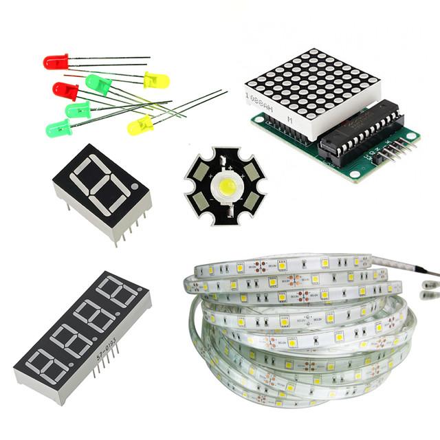 Світлодіоди, світлодіодні стрічки