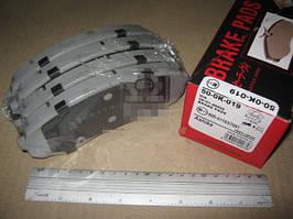 Колодки тормозные HYUNDAI H-1 (ASHIKA). 50-0K-019