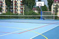 Спортивные покрытия для открытых площадок