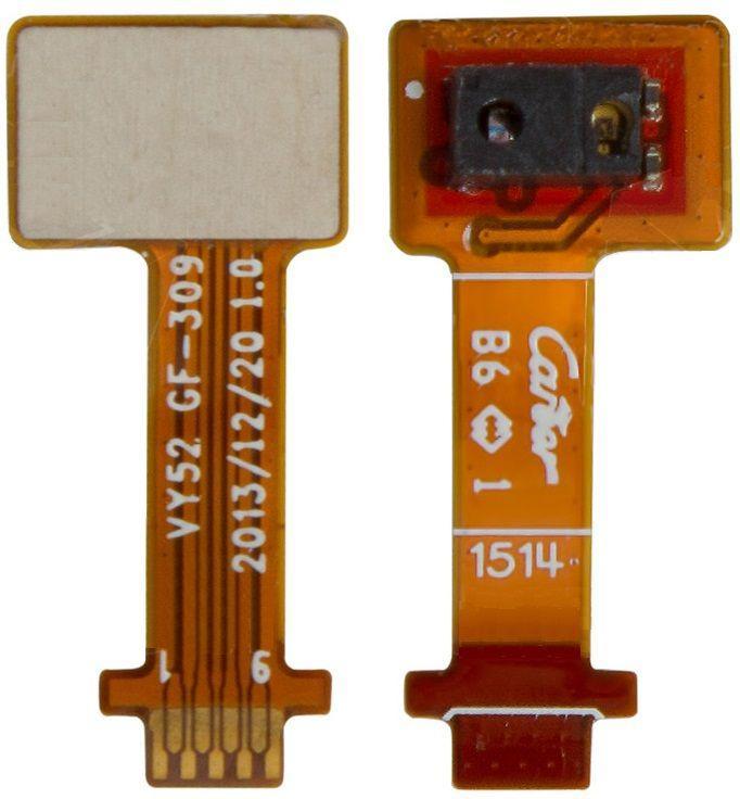 Шлейф Sony D2302 Xperia M2 Dual / D2303 Xperia M2 / D2305 Xperia M2 / D2306 Xperia M2 датчика приближения Original