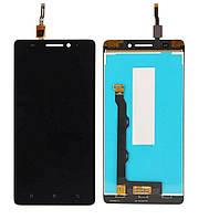 Дисплей (экран) для телефона Lenovo A7000 Plus, A7000 Turbo, K3 Note K50-T3s, K3 Note K50-T5 + Touchscreen Black