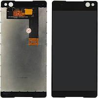 Дисплей (экран) для телефона Sony Xperia C5 Ultra E5506, Xperia C5 Ultra Dual E5533, E5563 + Touchscreen Black