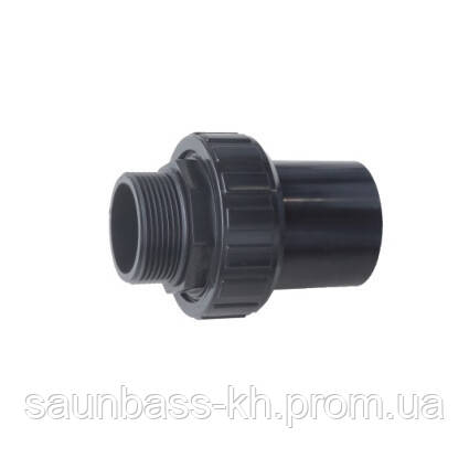 Emaux Муфта разборная ПВХ Emaux D50мм (89280102B)