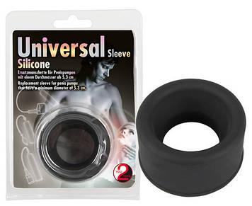 Манжета силиконовая черная Universal