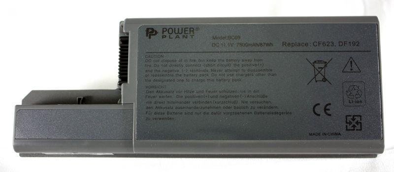 Аккумулятор для ноутбука Dell D820 (DF192, DL8200LP) 11,1V 7800mAh PowerPlant
